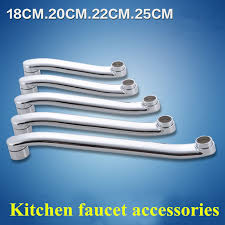 kitchen faucet extension aliexpress buy wall mounted kitchen faucet outlet pipe