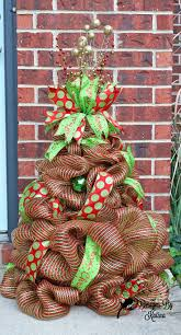 117 best deco mesh trees images on pinterest mesh christmas tree