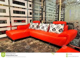leather sofa living room leather sofa in living room royalty free stock photos image