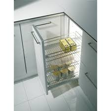 panier cuisine tiroir de cuisine extractible 3 paniers 2122 25 kg inoxa bricozor