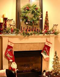 holiday decorating ideas fireplace mantels justsingit com