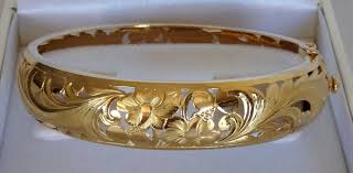 yellow bangle bracelet images Bracelets royal gold jewelry hawaiian jewelry denny wong JPG