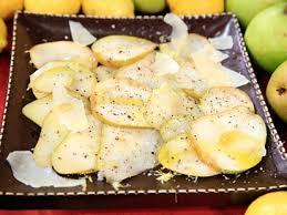 pear carpaccio recipe abc news