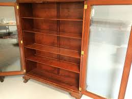 Bookcase With Lock Beautiful Antique 2 Door Bookcase With Lock And Ball And Claw Feet
