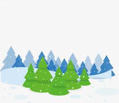snow trees vector winter vector winter material creative winter