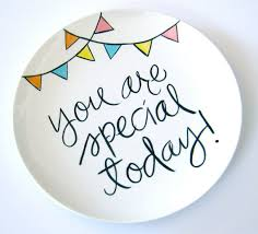you are special today plate giggleberry creations july 2011