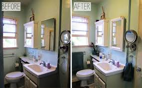 bathroom makeovers on a budget before and after budget friendly