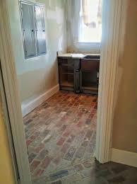 Laminate Brick Flooring Brick Floor Laundry Room House Interior Ideas Pinterest