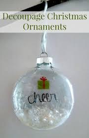 decoupage ornament diy martha stewart crafts miss
