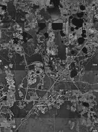 Disney World Hotel Map Wdw Satellite Image Of Wdw Property