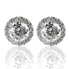 diamond stud earings margarita diamond stud earrings spexton custom jewelry