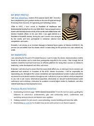 Student Affairs Resume Manifesto Of Alumni Pdf Facebook Self Improvement