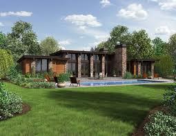 modern ranch plans home mansion