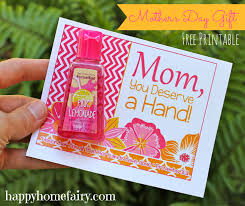 mothers day gifts easy s day gift idea at happyhomefairy so free