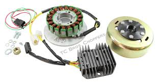 xscharge xs650 permanent magnet alternator kit pma fits all years