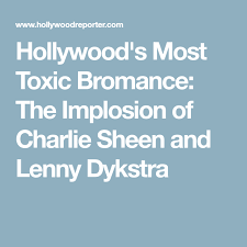 Hollywood S Most Toxic Bromance The Implosion Of Charlie - hollywood s most toxic bromance the implosion of charlie sheen