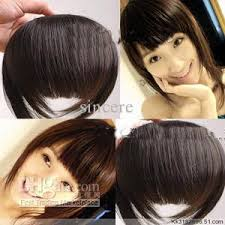 clip in fringe clip in bangs hair fringe human hair bangs different color is