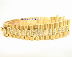 bracelet rolex images Rolex aftermarket 18k yg diamond bracelet band for ladie for jpg