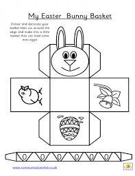 my easter bunny easter bunny basketcollection printable easter bunny basket