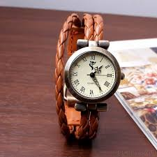 bracelet leather watches images Thin strips leather wrap strap bracelet watch bracelet watches jpg