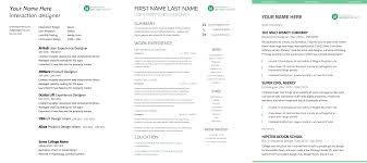 Resume Sample For Internship by Complete Guide To Ux Resumes 3 Free Templates Ux Beginner