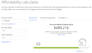 Home Affordability Calculator by Should You Afford What You Can Afford One More Dime