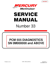merc service manual 33 big block diagnostics ignition system