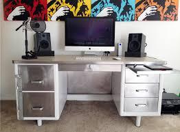 metal desk with laminate top steel tanker desk transformation tanker desk desks and industrial