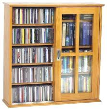 Dvd Storage Cabinet Oak Dvd Storage Cabinet Solid Oak Storage Cabinet Interior