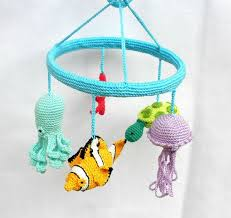 under the sea mobile fish baby mobile under the sea nautical