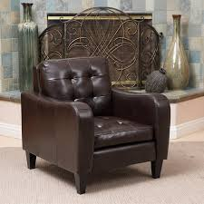 shop best selling home decor sorrento casual brown faux leather