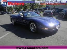 corvette wa used chevrolet corvette for sale in seattle wa cars com