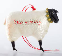 baah humbug sheep ornament the museum shop of the art institute