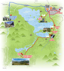 Map Route by Route Map Killarney Shuttle Bus