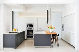 kitchen minimalist kitchen features white cabinet and slate grey