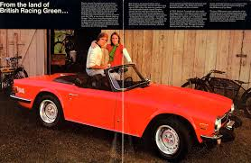 bright orange cars interesting collector cars for less than 50k usd u2013 triumph tr6