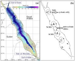 Map Of The Red Sea Remote Sensing The Phytoplankton Seasonal Succession Of The Red Sea