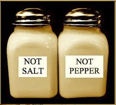 funny salt and pepper shakers life hacks