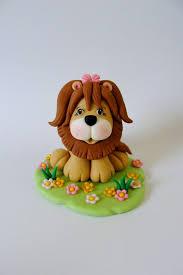 lion cake topper edible fondant cake topper lion by sugardoughdesigns