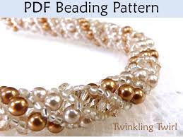 bead tutorial necklace images Beading tutorial pattern bracelet necklace russian spiral stitch 37263