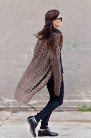 how does it take to knit a sweater cardigan an autumn fashion trend just the design