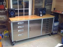 Work Bench With Storage Garage Workbench Garage Workbench With Storage Costcocostco For