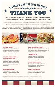 best 25 applebees veterans day ideas on chicken penne