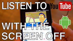 how to listen to with screen android simplest way to listen to with the screen on