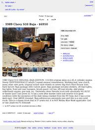 this 1989 chevy s10 baja asks 6 950 what do you think about that