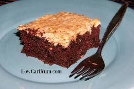gluten free german chocolate cake with zucchini low carb yum