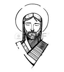1 322 jesus face stock vector illustration and royalty free jesus