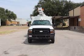 ford f450 bucket trucks boom trucks in texas for sale used