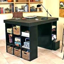 counter height craft table craft desk with storage craft desk with storage counter height craft