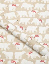 luxury christmas wrapping paper polar christmas wrapping paper 4m m s